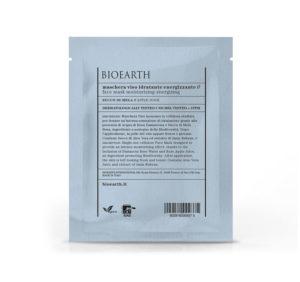 Maschera Viso Idratante Energizzante  con Succo di  Mela - busta monouso 15 ml