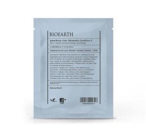 Maschera Viso Idratante Lenitiva con Camomilla - busta monouso 15 ml