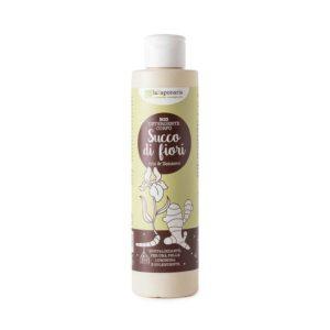 Detergente Corpo Iris e Zenzero  Succo di fiori  200 ml