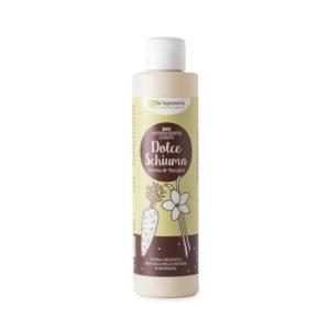 Detergente Corpo Vaniglia e Carota Dolce Schiuma  200 ml