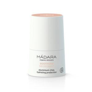 Deodorante con essenze vegetali naturali  particolarmente delicato e privo di Allume di Potassio, arricchito con l'estratto del fiore di Peonia rosa Nordica  50 ml