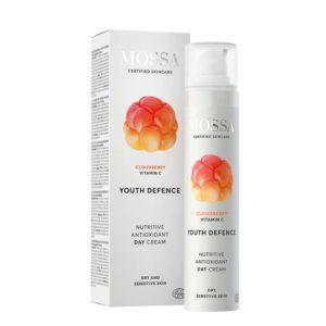 Crema giorno nutriente antiossidante con lampone artico e vitamina C  50ml