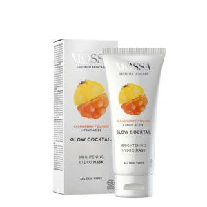 Maschera GLOW COCKTAIL idratante illuminate arricchita con alghe ed estratti di cloudberry e mela cotogna 60ml