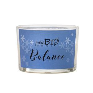 Candela biologica  BALANCE  bergamotto e lime  linea rilassante 120 ml - durata 20 ore