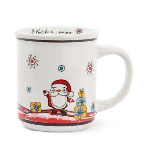 MUG HAPPY CHRISTMAS BABBO NATALE ML 370